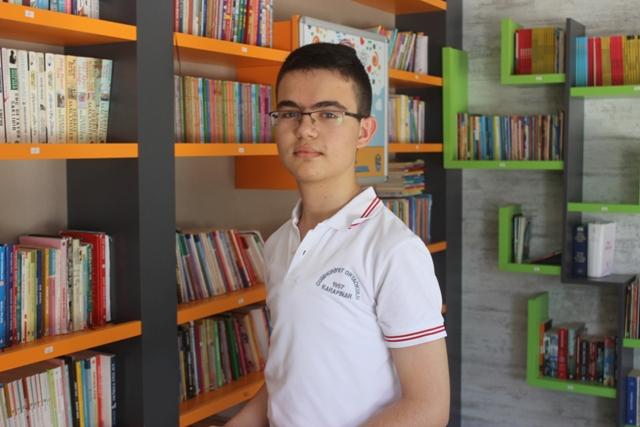 LGS birincisinin hedefi, yazılım mühendisi olmak