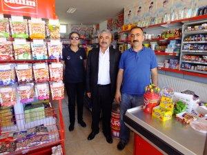 Ulaş Belediye Başkanı İlbey'den esnaf ziyareti