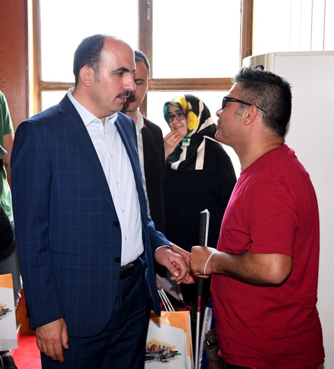 Başkan Altay Bilgehane'de öğrencilerle buluştu