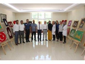 Bozkır'da Halk Eğitim Merkezi ve KOMEK'in yıl sonu sergisi