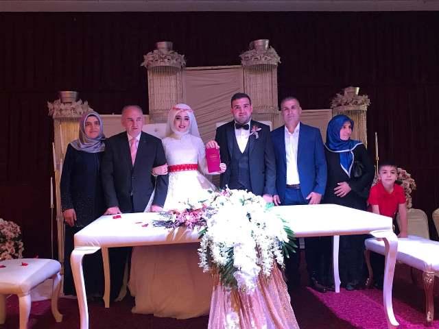 Erva Nur ile Hüseyin evlendiler