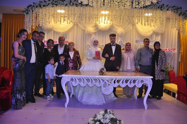 Fatma ile Bahadır evlendiler