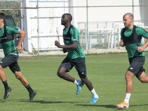 Konyasporlu futbolculara YOYO testi