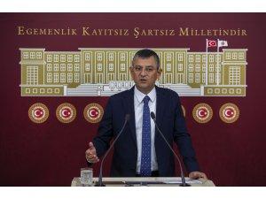 """CHP'li Özel'den Meclise """"Züğürt Ağa"""" benzetmesi"""