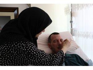 Yatağa mahkum eşini terk eden kadına nafaka bağlandı