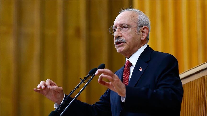 Kılıçdaroğlu: Doğu Akdeniz'deki haklarımızı sonuna kadar savunacağız