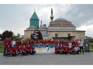 Şehit ve gazi çocukları Konya'yı ziyaret etti