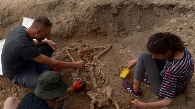 Sinop'ta bulunan rahatına düşkün iskelet şaşırttı!