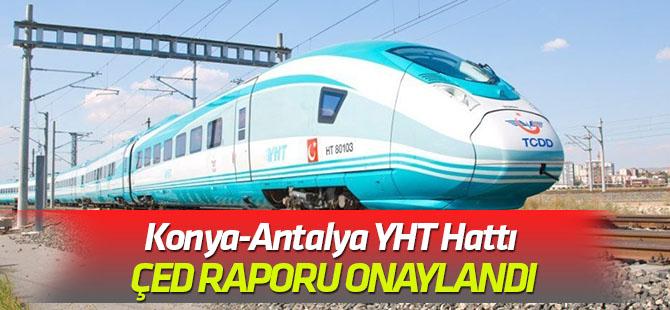 Konya-Antalya YHT Hattı ÇED Raporu Onaylandı