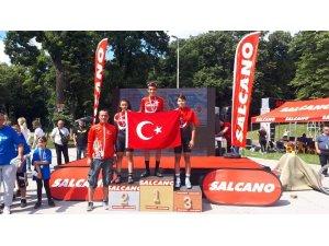 Sırbistan dostluk yarışından 3 madalya