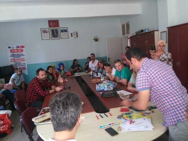 Özel eğitim öğretmenleri bilgilerini paylaştı