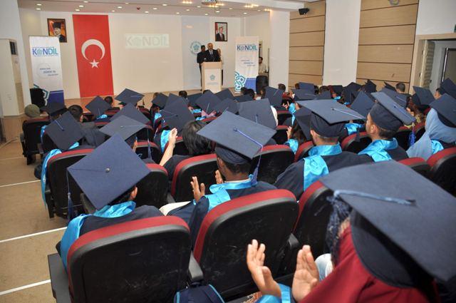 NEÜ KONDİL'de mezuniyet heyecanı
