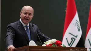 """Irak Cumhurbaşkanı Salih: """"Göstericiler çete ve yasa dışı örgütlerce öldürüldü"""""""