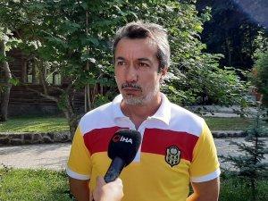 """Ali Ravcı: """"Olimpija Ljubljana güçlü bir takım, hedefimiz gruplara kalmak"""""""