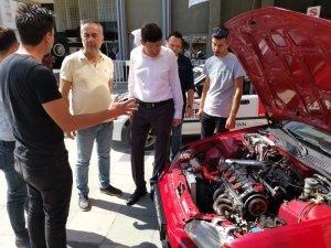 Başkan Özcan'dan Nazilli'yi temsil edecek Şahin Çalışkan'a destek