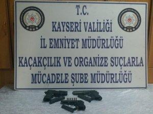 Kayseri'de silah kaçakçılığı operasyonu
