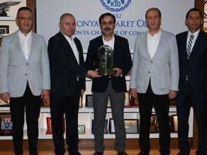 Konyaspor'dan KTO'ya teşekkür