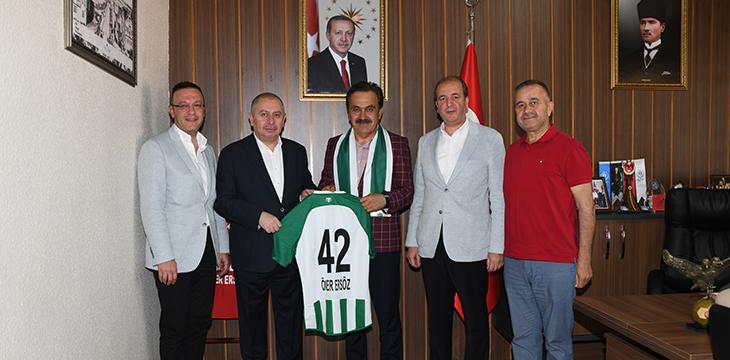 Konyaspor'dan Ersöz'e ziyaret