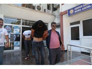 Kablo ve su sayacı hırsızları yakalandı