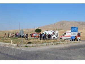 Konya'da iki otomobil çarpıştı: 2 ölü, 2 yaralı