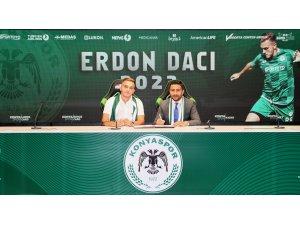 Konyaspor'da Daci'nin sözleşmesi uzatıldı