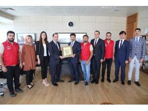 Diyarbakır Sur Gençlik Merkezine büyük ödül
