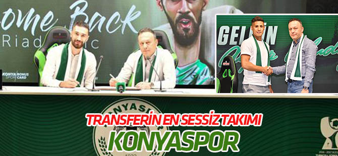 Konyaspor Süper Lig'de transferin en sessiz takımı
