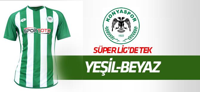 Süper Lig'de tek yeşil-beyaz Konyaspor