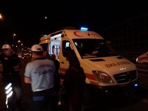 D-100 Ankara istikametinde kaza: 4 yaralı