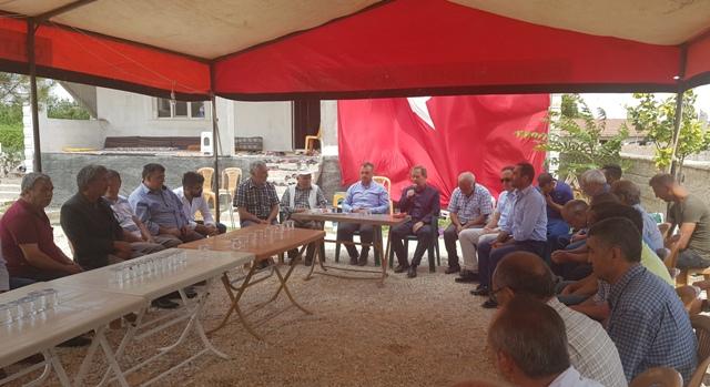 CHP'den ilçelere ziyaret