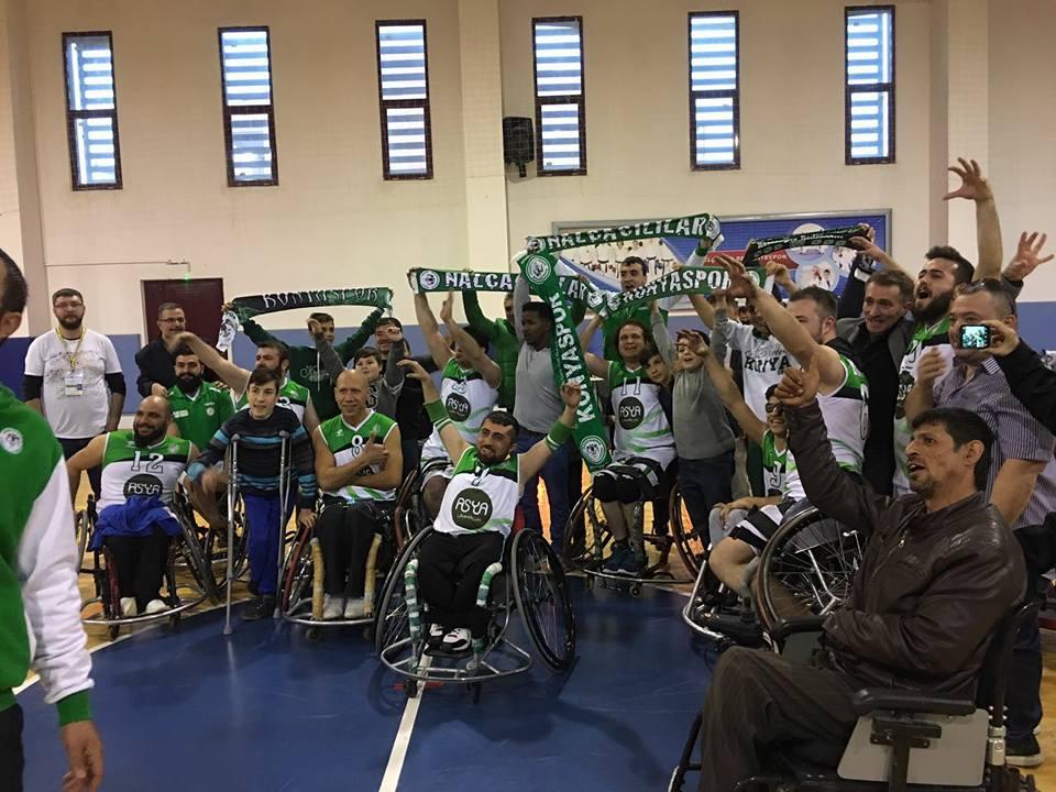 Konya Engelliler Spor Kulübü 1. Lig'de mücadele edecek