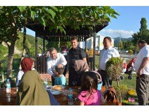 Maviş, Türkeli'deki yatırımları inceledi