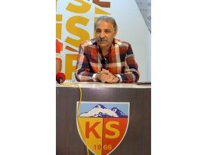 """Kayserispor Başkanı Erol Bedir: """"Deniz konusu kapatılmalı"""""""