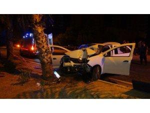 Mersin'de trafik kazası: 2 ölü, 4 yaralı