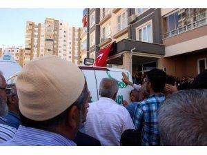 Şehit polis son yolculuğuna uğurlanıyor
