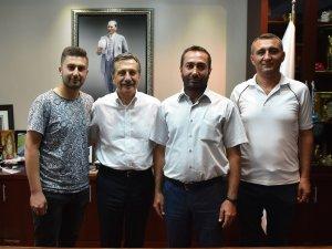 CHP Çeltik ilçe başkanı Yalavaç'tan Ataç'a ziyaret