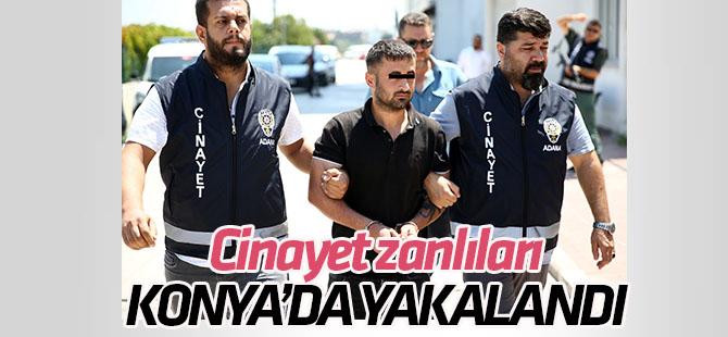 Adana'daki cinayetin zanlıları Konya'da yakalandı