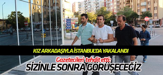 İki bavul altınla kaçtığı iddia edilen sarraf kız arkadaşıyla birlikte İstanbul'da yakalandı!