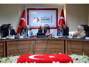 """Soylu: """"Geçici koruma statüsündeki göçmenlerin sınır dışı edilmesi söz konusu değil"""""""