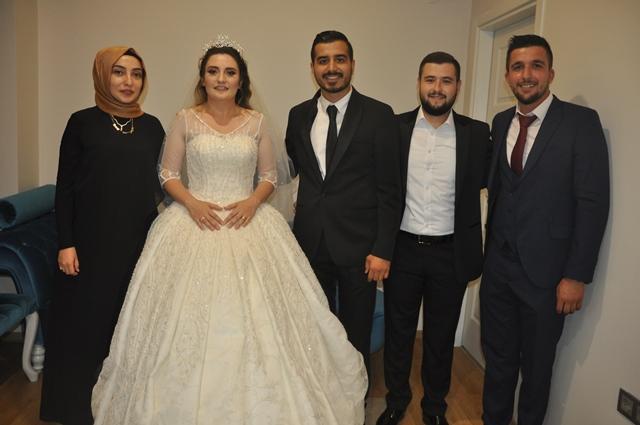 Seda ile Mehmet evlendi