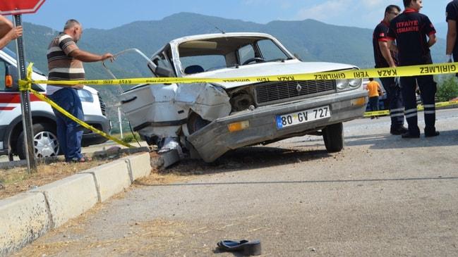 Osmaniye'de feci kaza... Anne öldü, bebeğinin durumu ağır...