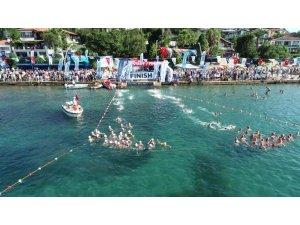 Kocaeli Açıksu Yüzme Şampiyonasının ilk etabı tamamlandı