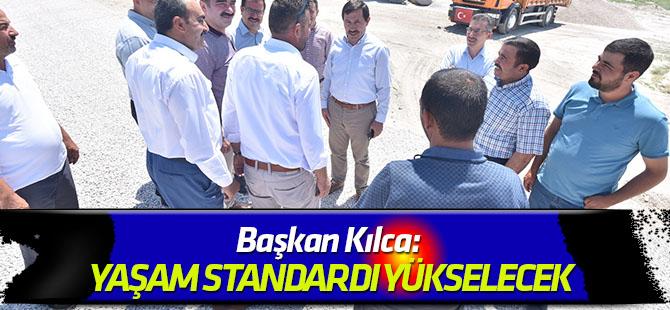 Başkan Kılca: Merkezdeki yaşam standartlarını Karatay'ın tamamına yayıyoruz