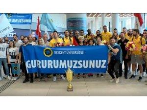 Beykent Üniversitesi Basketbol Takımı, Avrupa 2.'si oldu