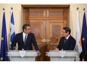 Yunanistan'ın çiçeği burnunda Başbakanı Miçotakis'ten ilk ziyaret Güney Kıbrıs'a