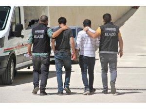 Elazığ'da'ki  uyuşturucu operasyonu: 2 tutuklama
