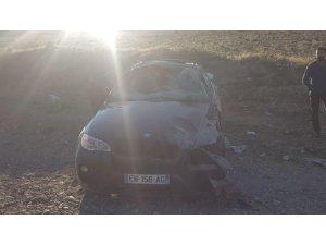 Bingöl'de trafik kazası: 1 ölü, 3 yaralı