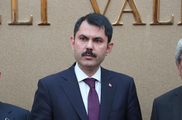 Bakan Kurum'dan Huğlu'daki yangınla ilgili açıklama