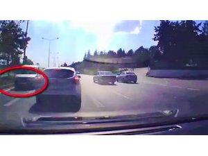 Ters yönde ilerleyen sürücüye ceza