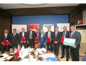 TR83 Bölgesi Rekabetçilik ve Dış Ticaret Destek Merkezi protokolü imzalandı